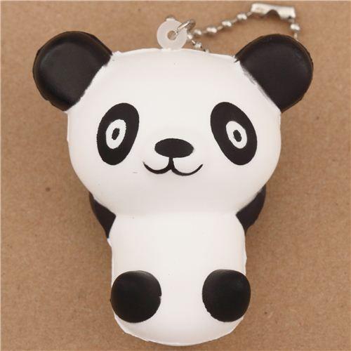 cute panda bear dreamer squishy cellphone charm kawaii 1