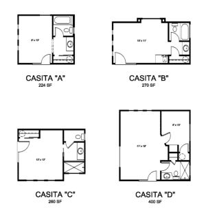 Casita Guest Studio Plans Backyard Guest Houses House Floor Plans House Flooring