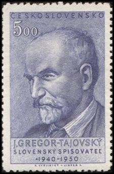 Poštová známka_J.G. Tajovský