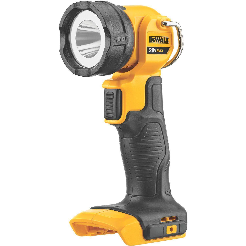 Dewalt DCL040 Cordless Flash Light 20 Volt