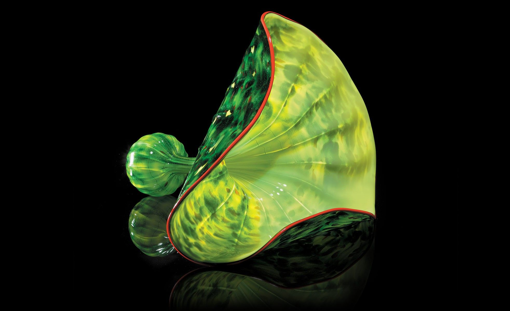 Aspen Green Persian (Dale Chihuly)