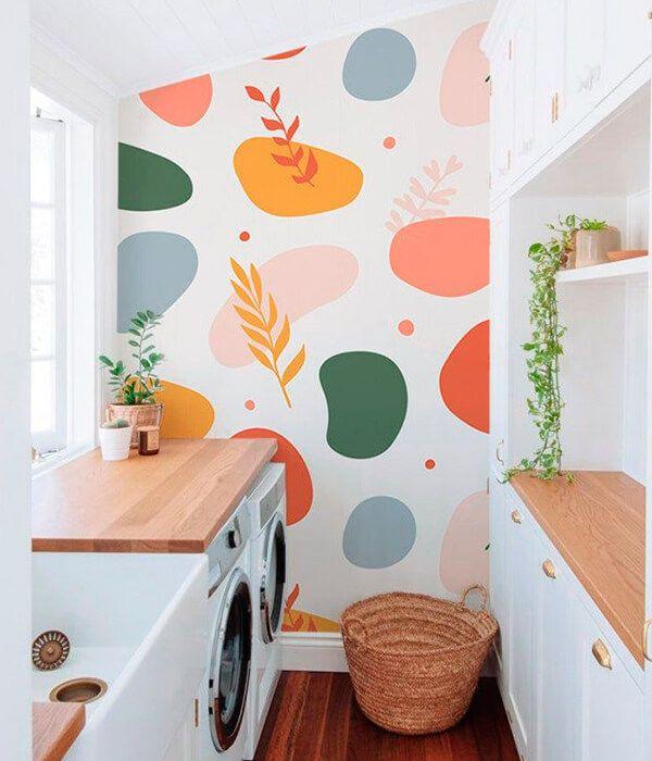 Mais de 10 ideias pra decorar e organizar a lavand