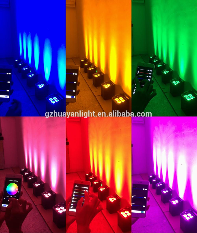 Light Up Theater: Wedding Uplights Dj Booth Led Par 4*12w Leds Par Lights