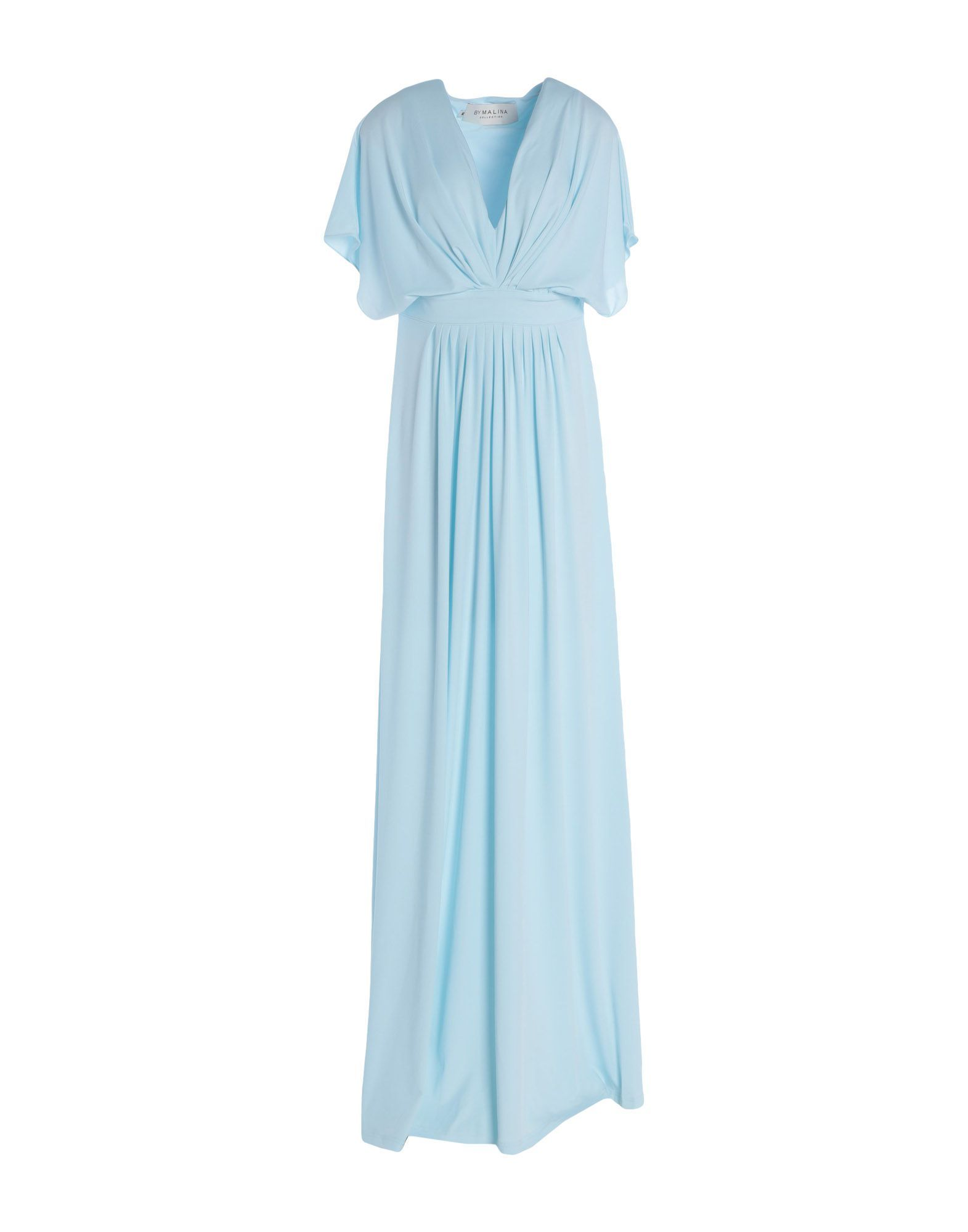 by malina langes kleid - kleid | yoox | lange kleider