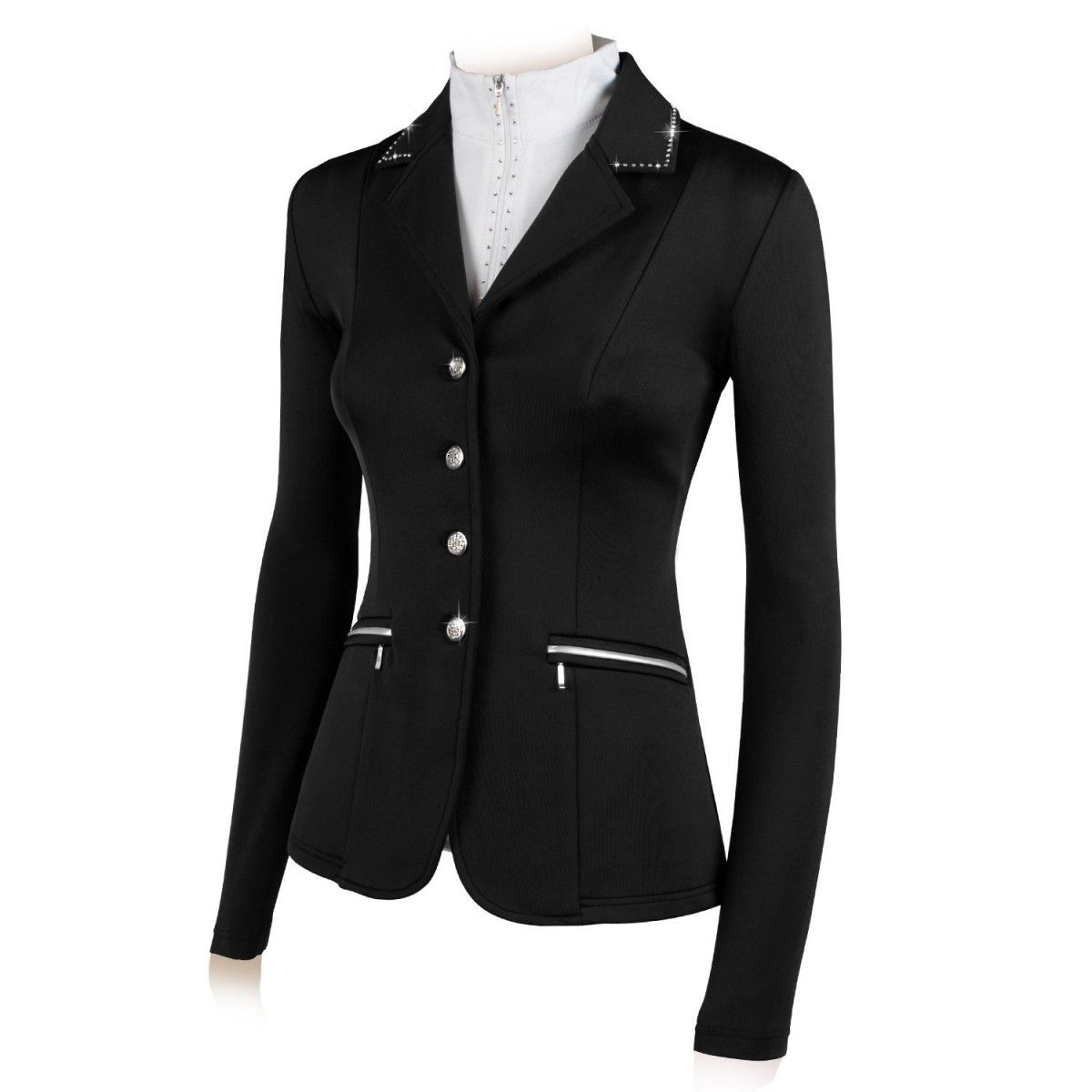Horses Flora Show Jacket With Rhinestones Show Jackets Equestrian Outfits Clothes [ 1200 x 1200 Pixel ]