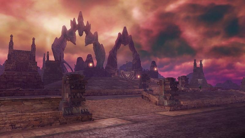 Zelda MUSOU / Hyrule Warriors #WiiU - Dark / ennemy area? (May 2014 screenshot) | #ZeldaHW