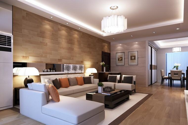 #Interior Design Haus 2018 Minimalistische Inneneinrichtung Mit Steinwänden  #Ideen #Dekoration #Decorating #