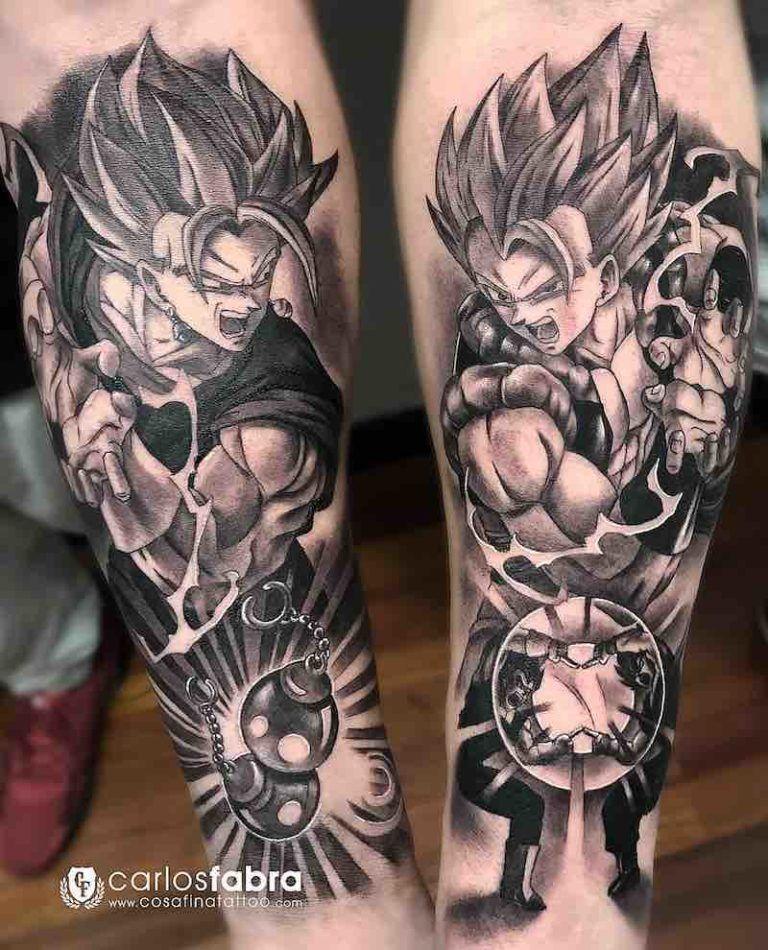The Very Best Dragon Ball Z Tattoos Z Tattoo Dragon Ball Tattoo Dbz Tattoo