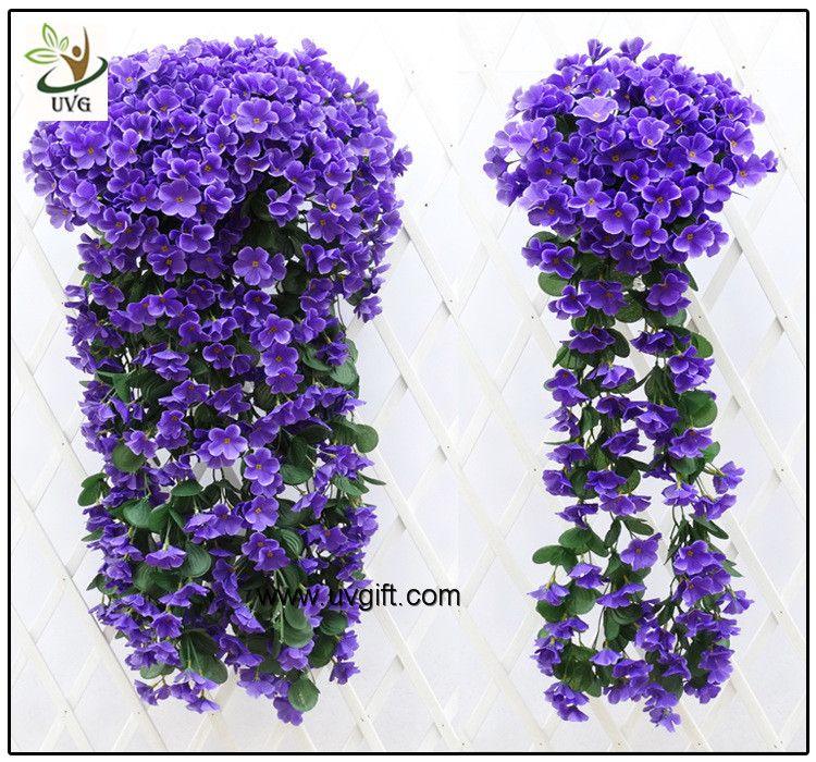 Uvg artificial flowers wholesale hanging silk violet wreath for flower uvg artificial flowers wholesale mightylinksfo