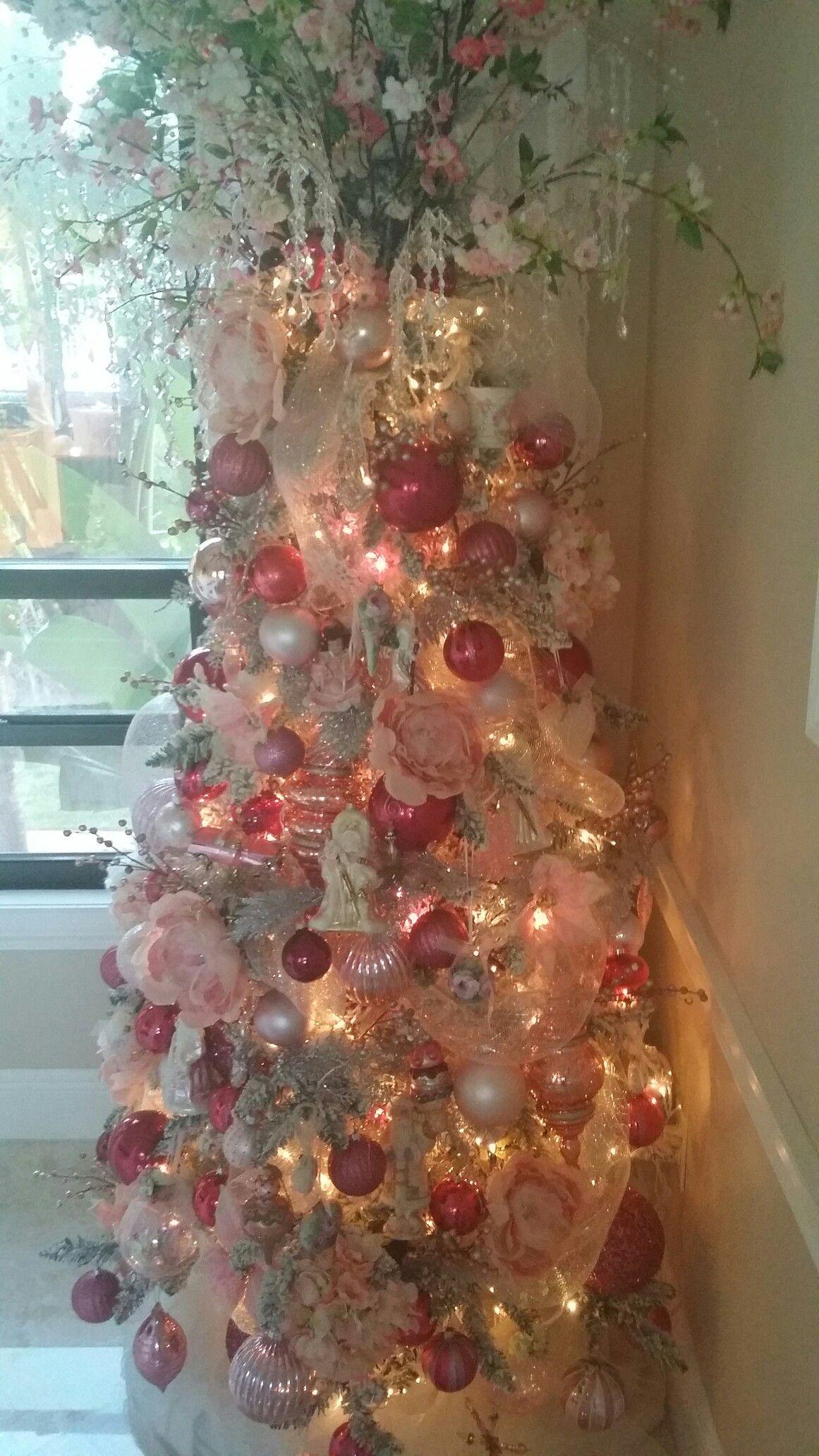 Pink Christmas Dreams My Christmas Trees 3 Pinterest