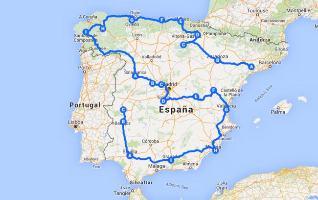 Las Tres Mejores Rutas Para Conocer El Patrimonio Cultural De Todas Las Comunidades Peninsulares Lugares De España Pueblos De España Rutas En Coche