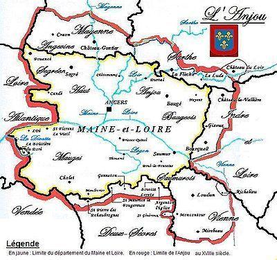 Les Anges Chardonnay Pays De La Loire Map France