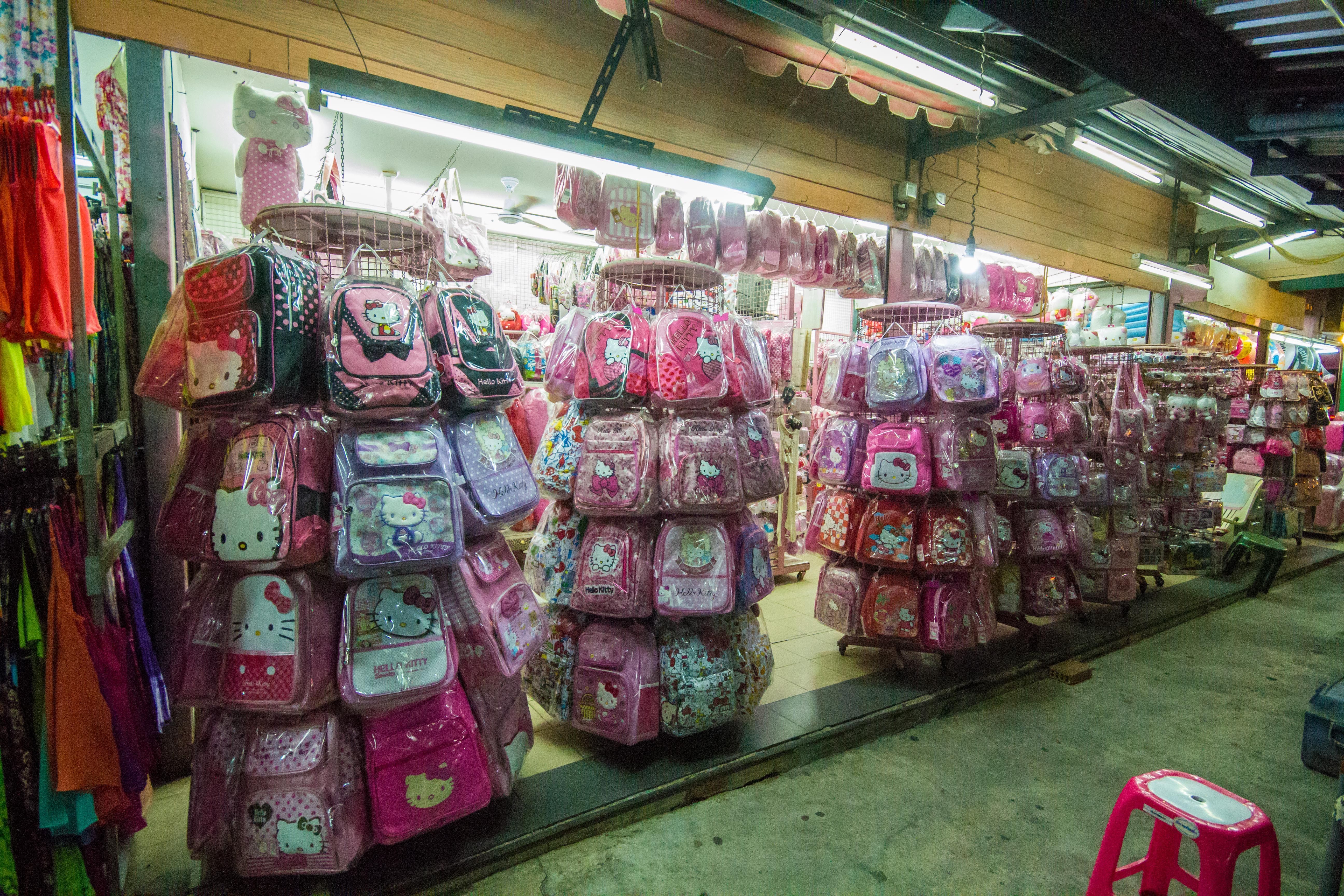 536f0f929ebd There a whole shop selling only Hello Kitty stuff in the OTOP Market in  Patong