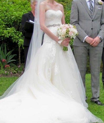 Preowned Wedding Gowns: Used Enzoani Fatima Wedding Dress