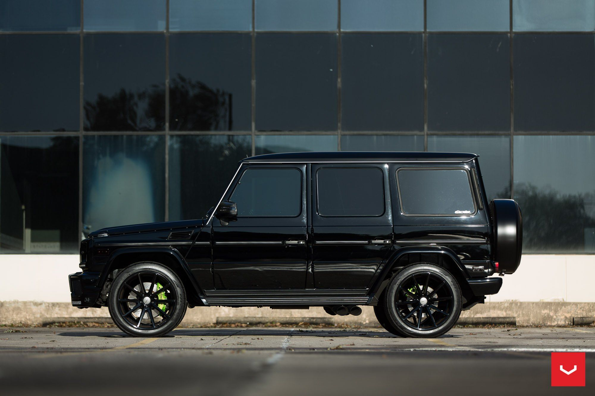 Custom Mercedes G Class Gets Blacked Out with Style