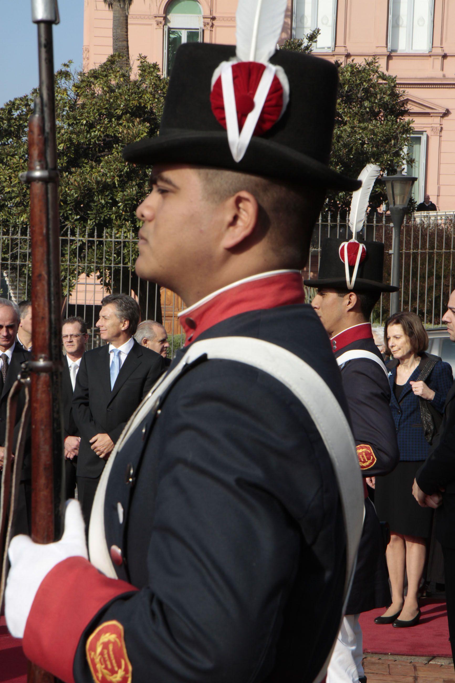 Encabecé el acto oficial por el 433ª aniversario de la fundación de  Buenos Aires.