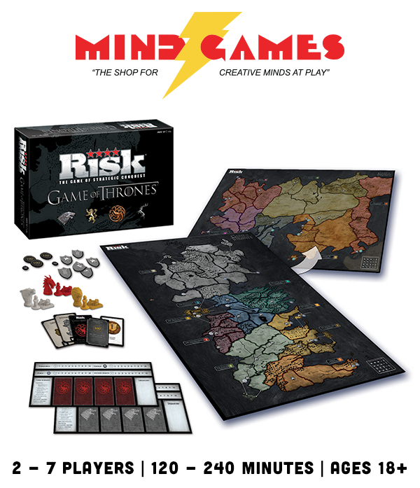 Risk Game of Thrones Edition brings the classic strategy