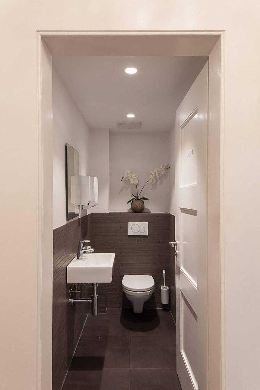 Toilet Ideas, Modern Toilet Design, Wc Design, Design Moderne, Narrow  Bathroom,