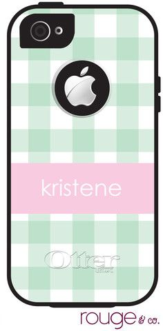 Personalized or Monogrammed Otterbox Phone Cover