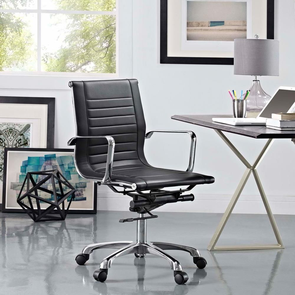 Modway Runway Mid Back Office Chair Ergonomic chair