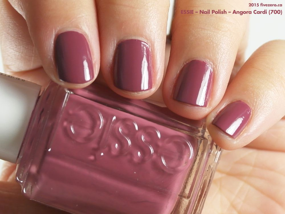Essie Nail Polish in Angora Cardi (swatch by fivezero.ca) [pikn ...