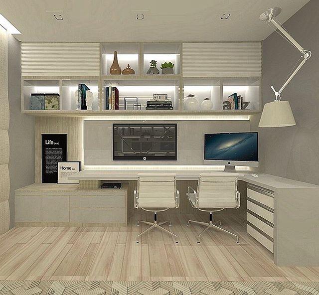 Projeto Da Regram @camilajardimarquiteta Home Office De
