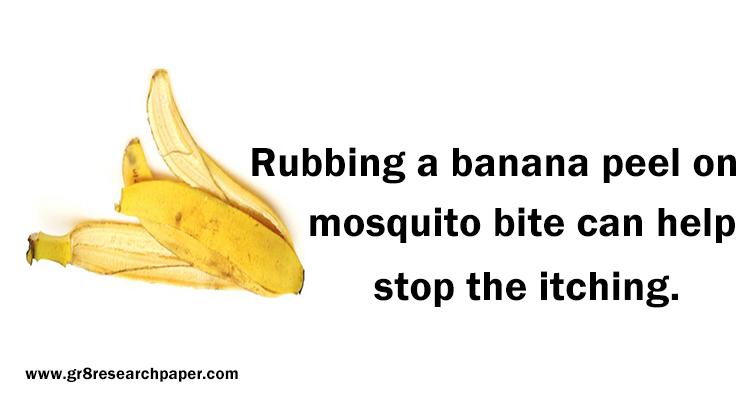 Healing Power Of Banana Peel Banana Banana Peel Healing Powers