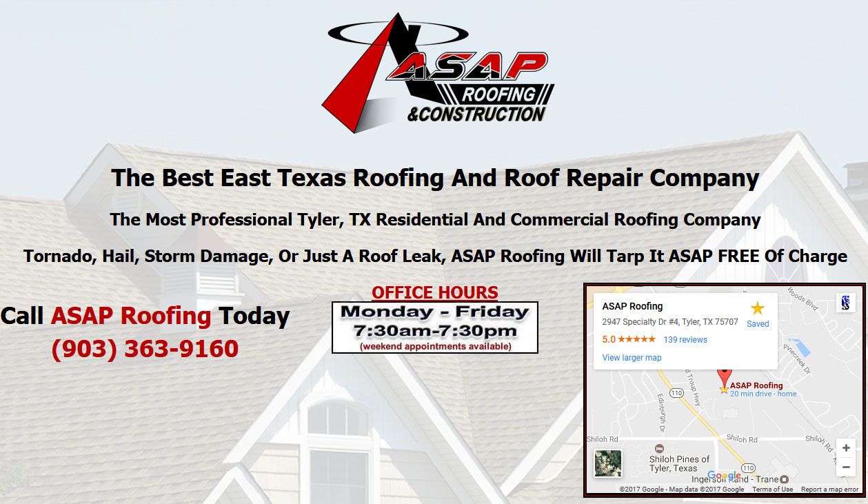 Home Tyler Texas Roofing Company Roof Leak Repair