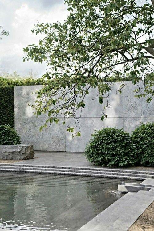 Pool Wall Water Features In The Garden Outdoor Gardens Landscape Design