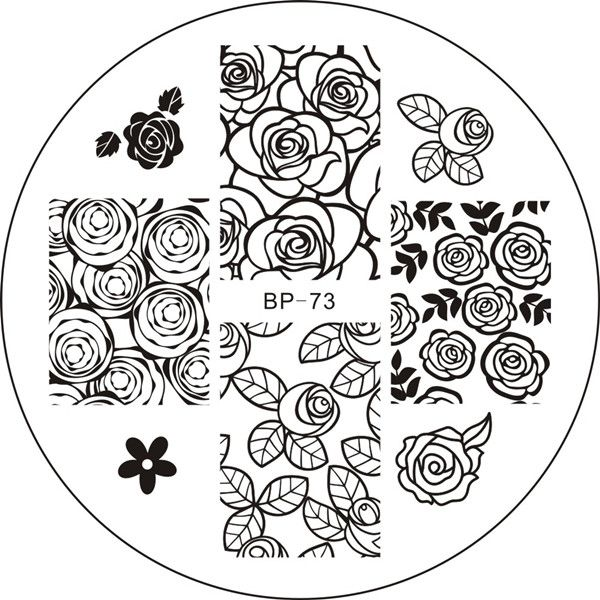 Born Pretty Store - Quality Nail Art, Beauty \ Lifestyle Products - stamp template