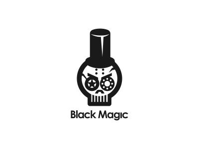 Black Magic Black Magic Skull Logo Soul Art