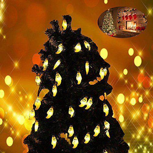 LEDGLE Guirlande Lumineuse LED pour la Décoration d Halloween et