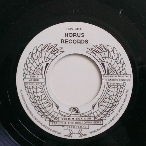 My son's record label
