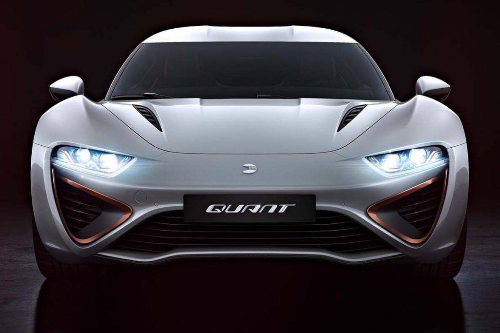 2017 NanoFlowcell Quant 48Volt Concept Electric sports