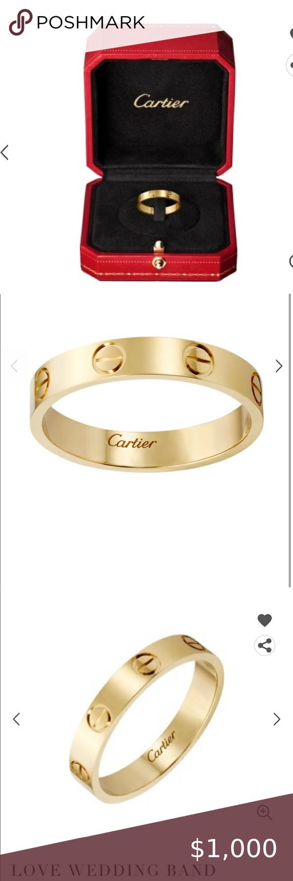 Cartier LOVE WEDDING BAND YELLOW GOLD LOVE WEDDING BAND