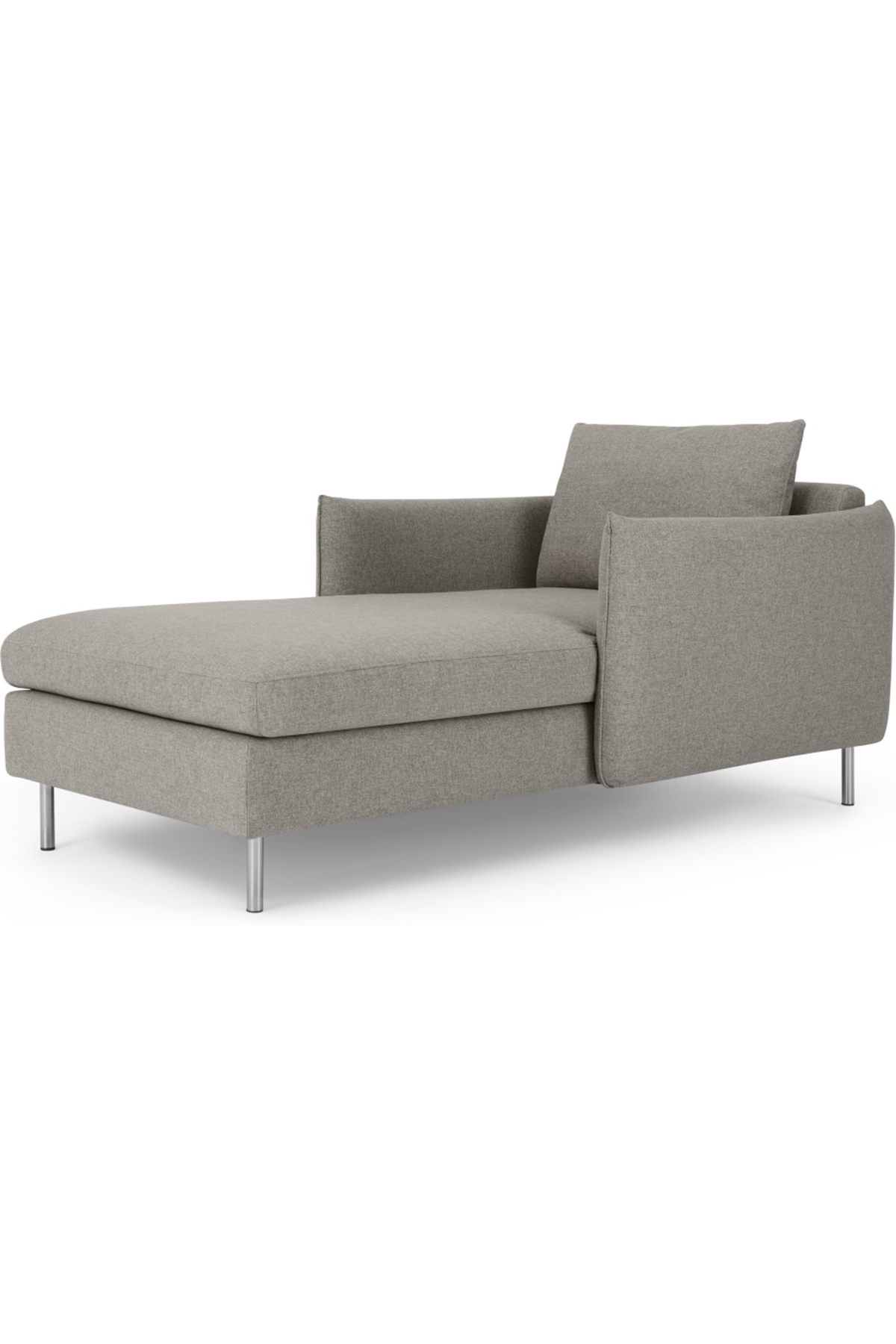 Vento Chaise Longue Manhattan Grey Chaise Longue Cosy Reading Corner Grey