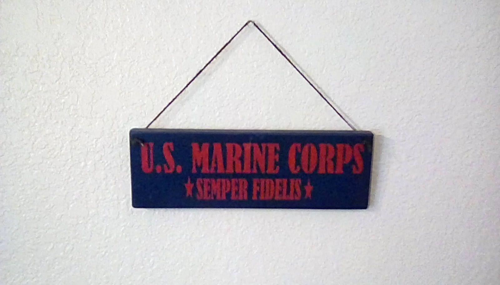 U.S. Marines Corpes. Semper Fi, America, Office decor, Patriotic ...