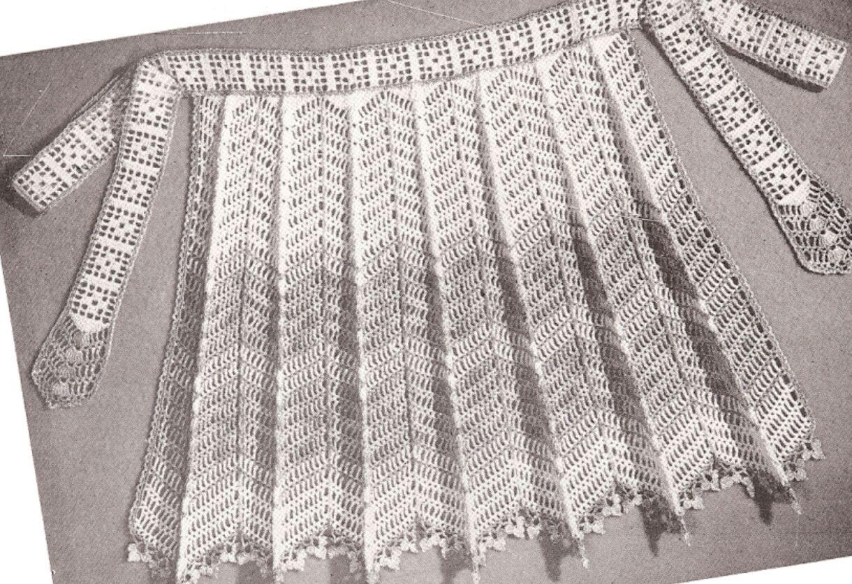 #1154 COLUMBIA CAPE VINTAGE CROCHET PATTERN (Single Patterns)