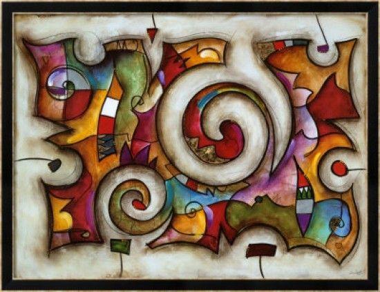 Dibujos abstractos con figuras geometricas buscar con - Fotos cuadros abstractos ...