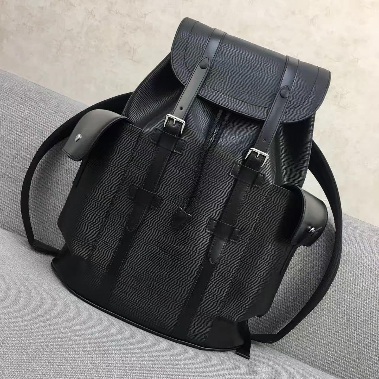 98399d6dc8c4 Louis Vuitton x Supreme Epi Leather Christopher PM Backpack 2017 ...