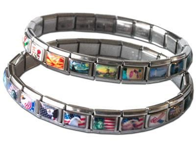 Do You Like Italian Charm Bracelets If So Know How Much The Charms Can Cost Now Make Your Own Custom Photo At Home