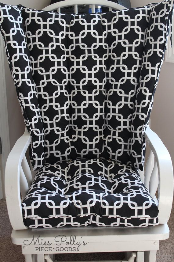 Wingback Rocker 4 Post Glider Cushions Rocking Chair In 2018