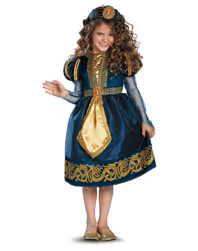 Disney Brave Merida Sparkle Girls Costume from Spirit Halloween on ...