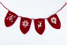 Ravelry: Nordic Bunting pattern by Sue Stratford