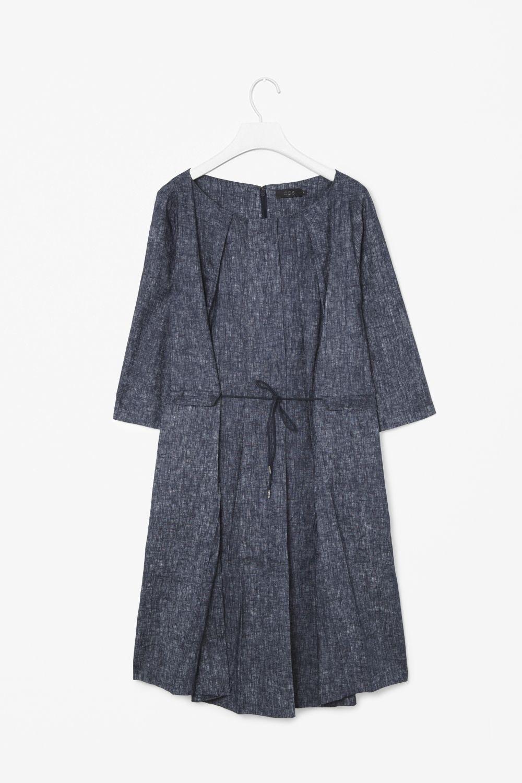 Linen print dress | Things I love | Pinterest | Vestidos de lino, El ...