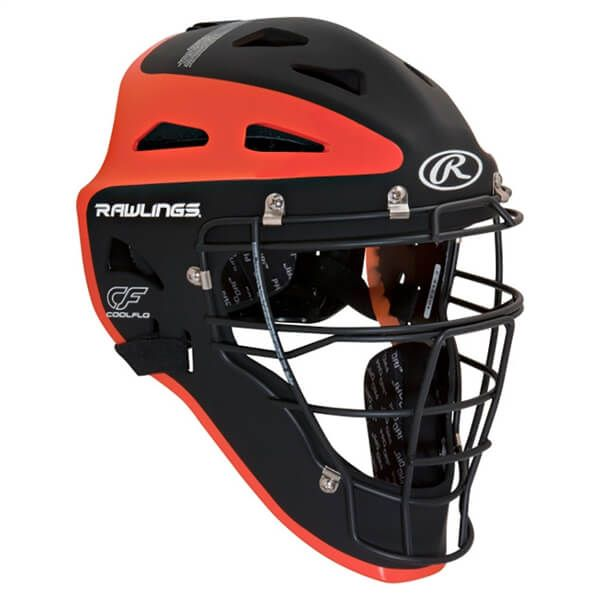 2d04c4a5ac5 Rawlings CHVEL Velo Two-Tone Catcher s Helmet Adult