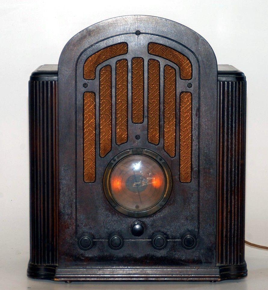 Vintage Rca Victor Radio Rádio Antigo