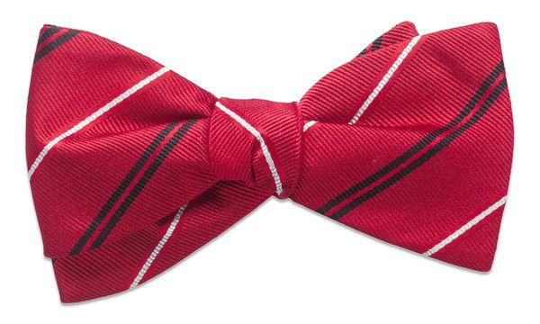 Warren Red Bow Tie