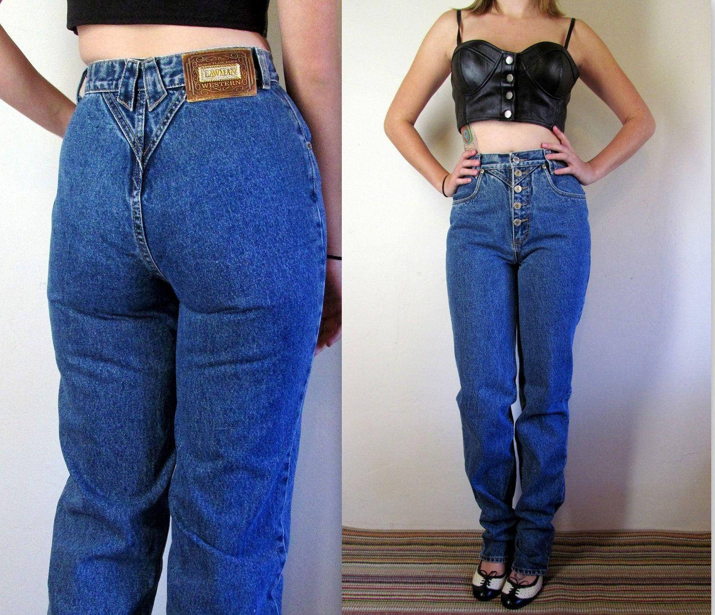 09f6d5426974d Vintage 80 s Jeans   High Waist Jeans   Sexy 80 s Jeans
