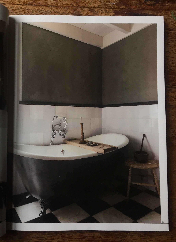 Mooi vrijstaand Albion bad in landelijke badkamer #bad #baden ...